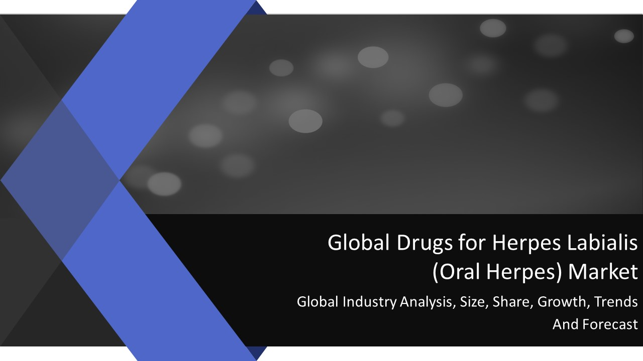 Global Drugs For Herpes Labialis Oral Herpes Market Growth Market Reports