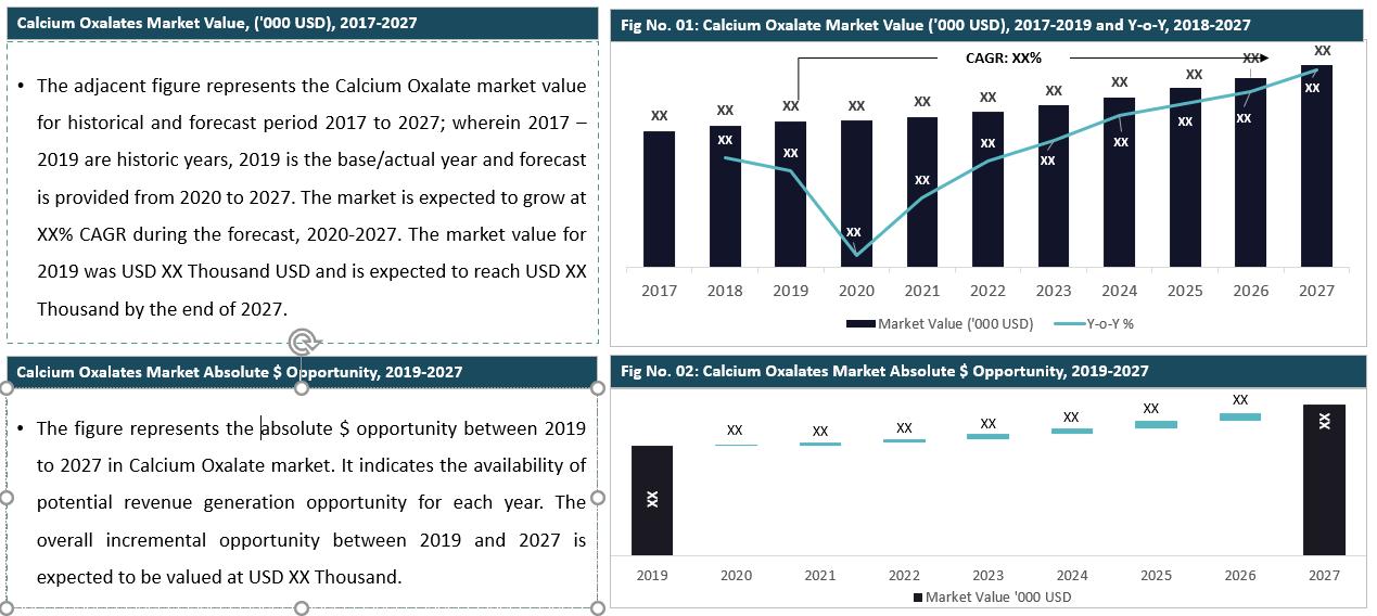 Global Calcium Oxalate Market Summary